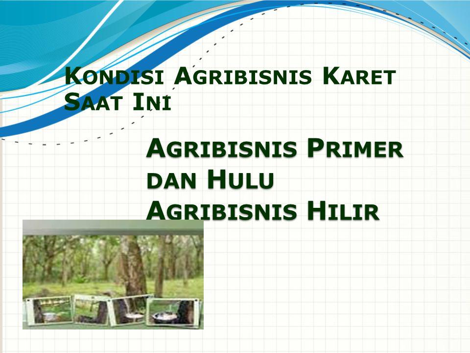 Agribisnis Primer dan Hulu Agribisnis Hilir