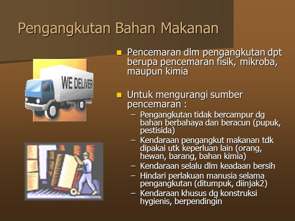 Pengangkutan Bahan Makanan