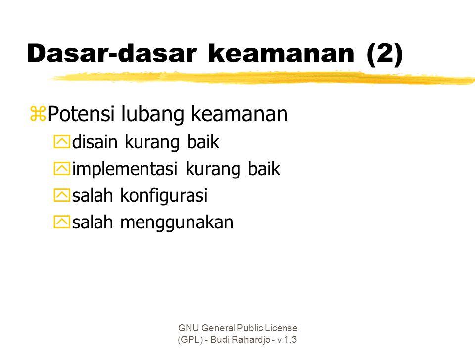 Dasar-dasar keamanan (2)