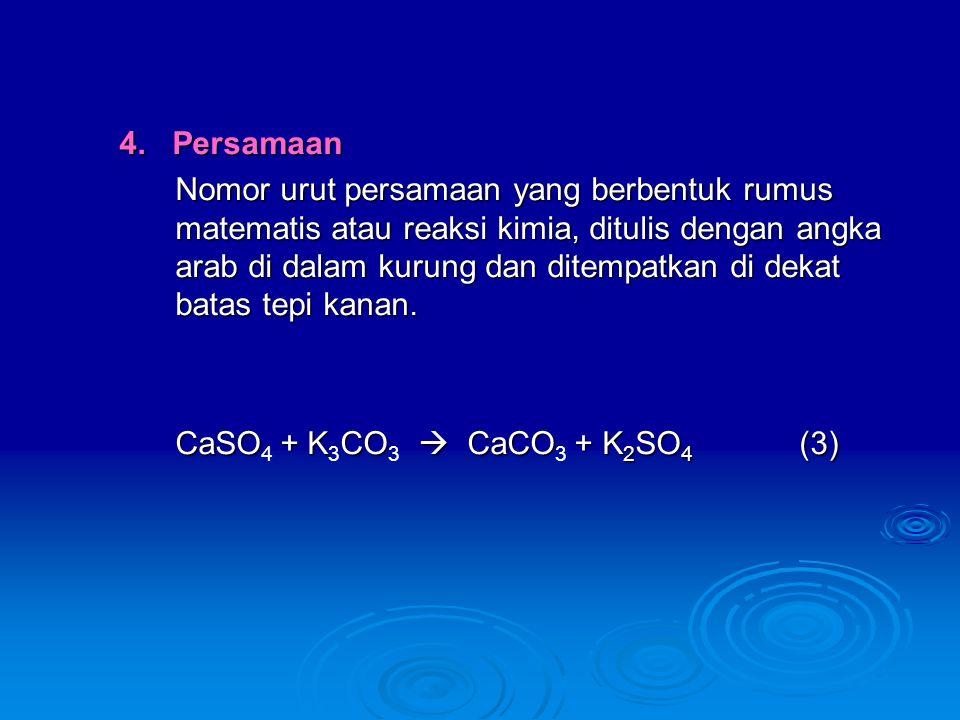 4. Persamaan