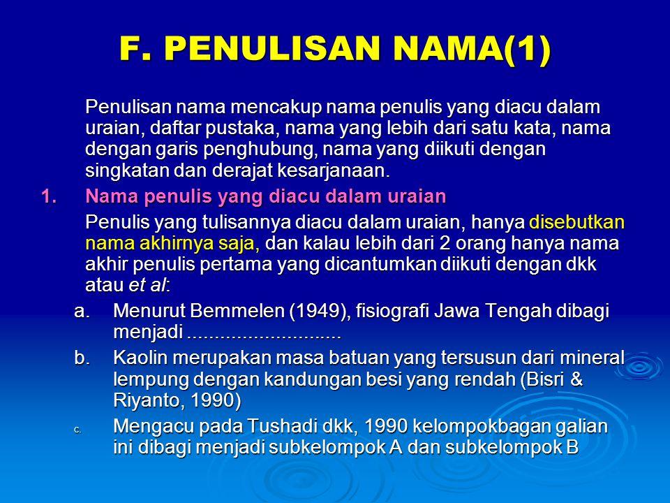 F. PENULISAN NAMA(1)
