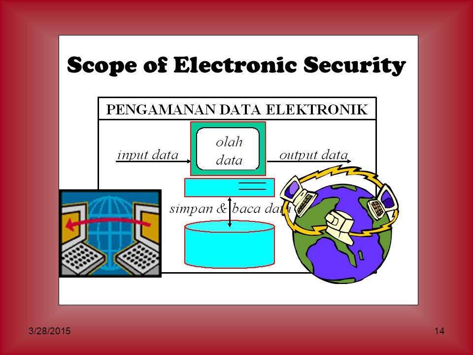 Scope of Electronic Security
