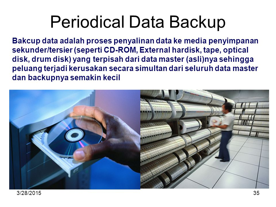 Periodical Data Backup
