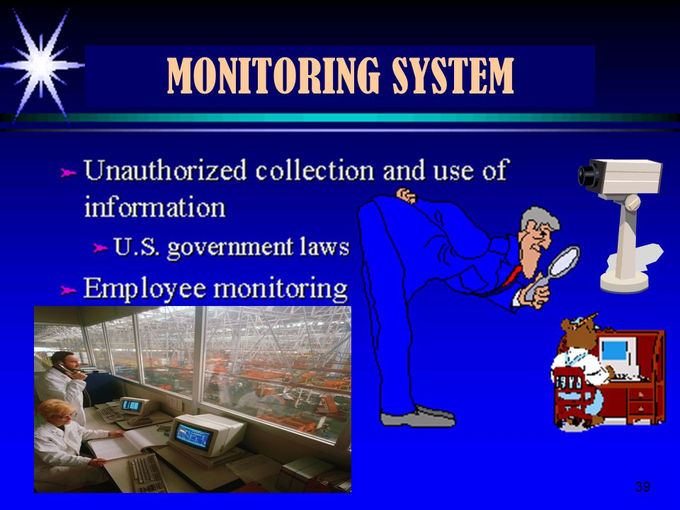 MONITORING SYSTEM 4/8/2017 39