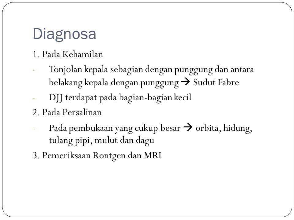 Diagnosa 1. Pada Kehamilan
