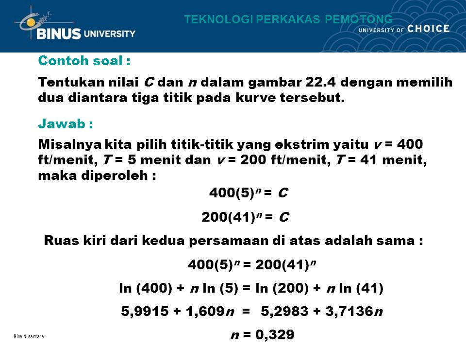 ln (400) + n ln (5) = ln (200) + n ln (41)