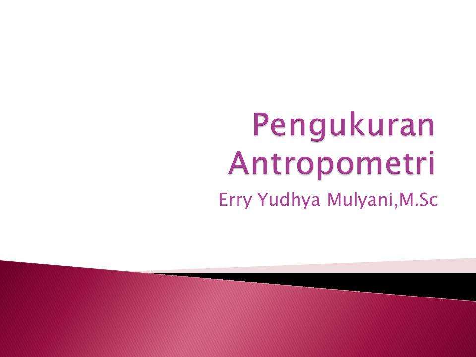 Pengukuran Antropometri