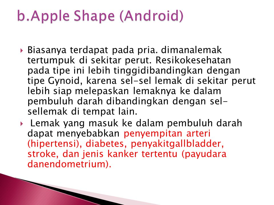 b.Apple Shape (Android)