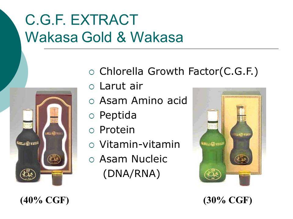 C.G.F. EXTRACT Wakasa Gold & Wakasa