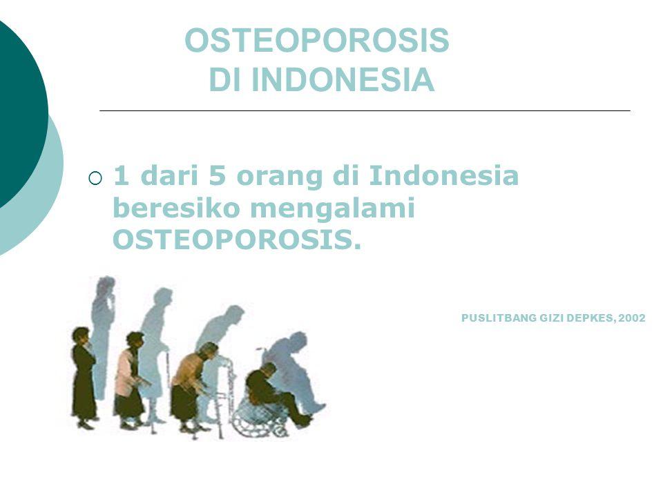OSTEOPOROSIS DI INDONESIA