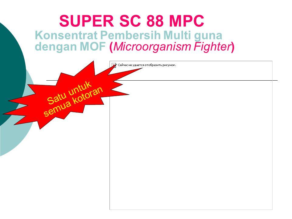 Konsentrat Pembersih Multi guna dengan MOF (Microorganism Fighter)