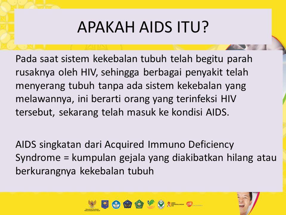 APAKAH AIDS ITU