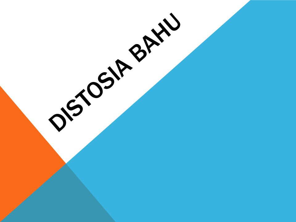 Distosia bahu