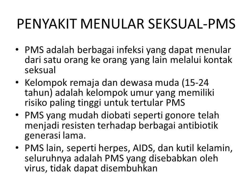PENYAKIT MENULAR SEKSUAL-PMS