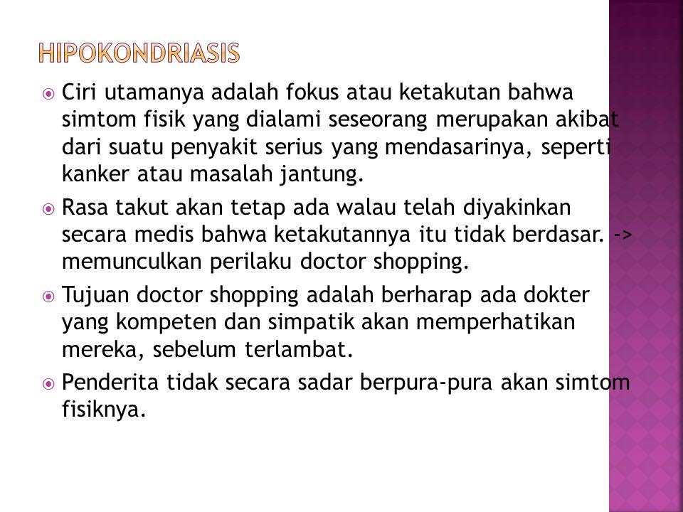 Hipokondriasis