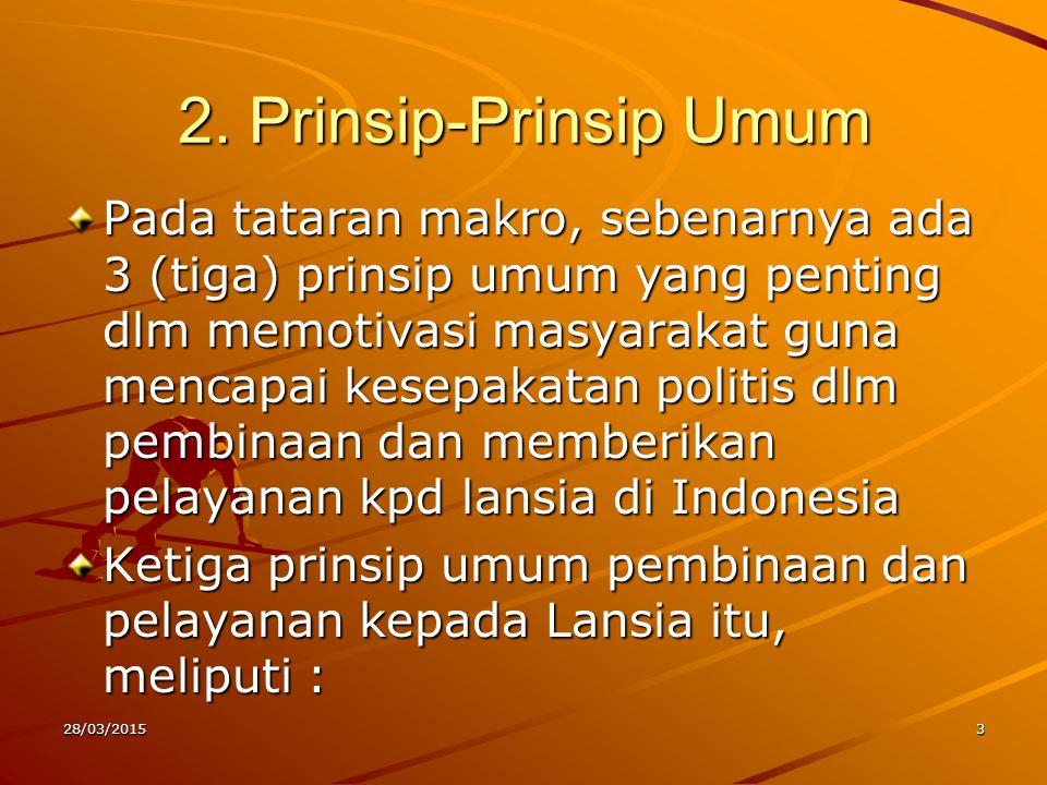2. Prinsip-Prinsip Umum