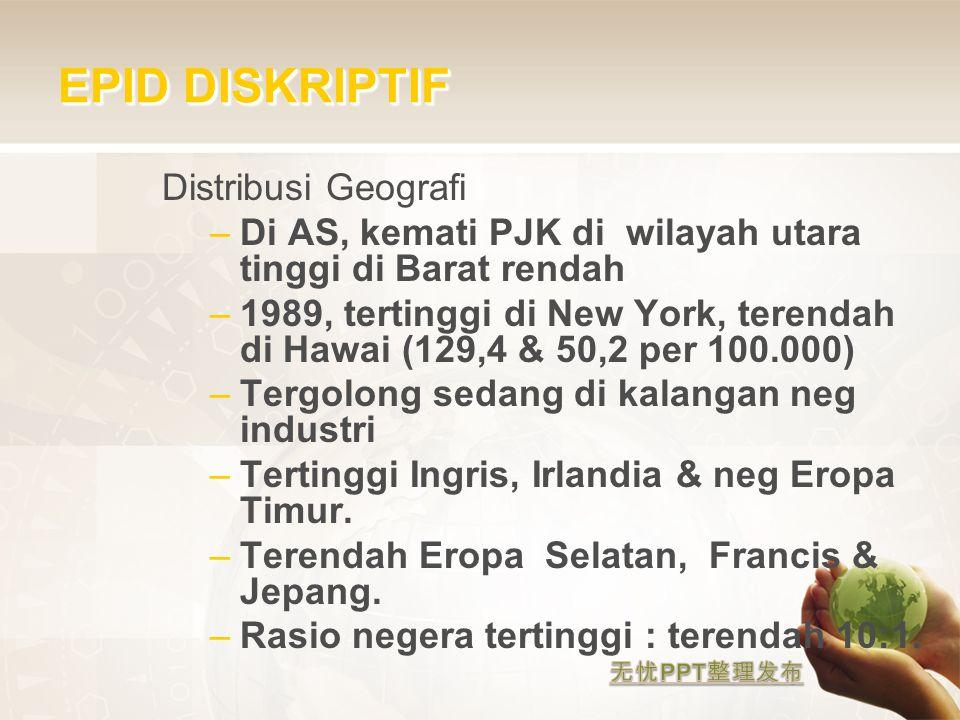 EPID DISKRIPTIF Distribusi Geografi