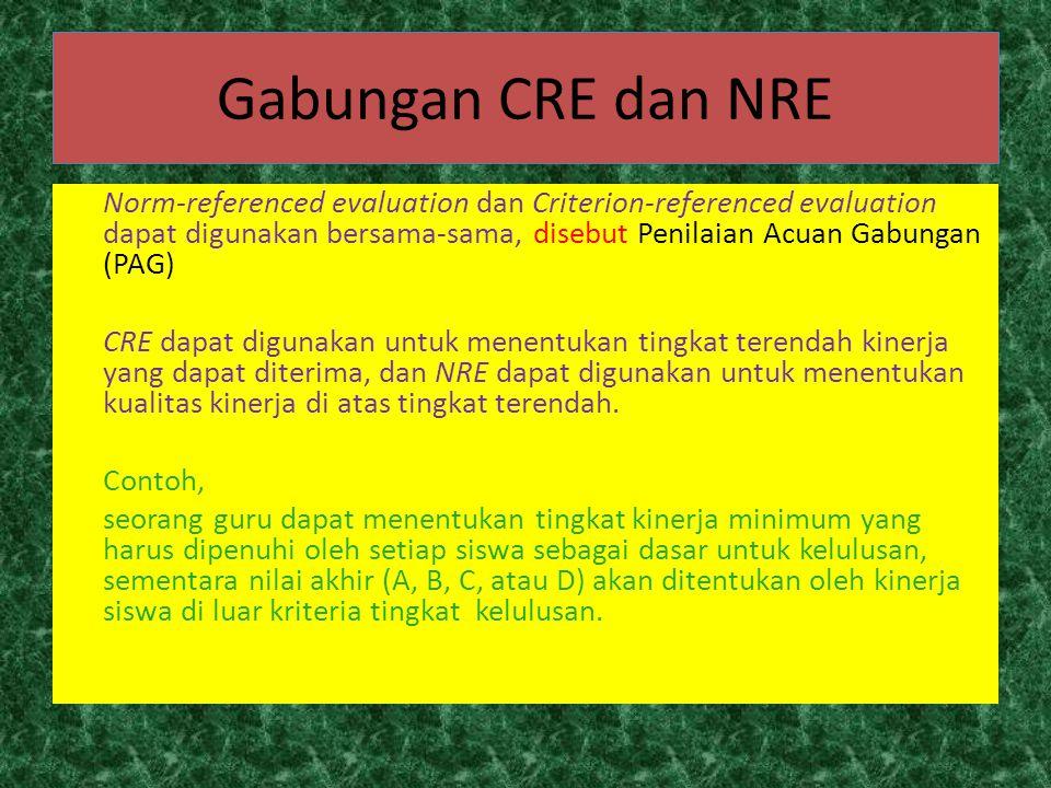 Gabungan CRE dan NRE