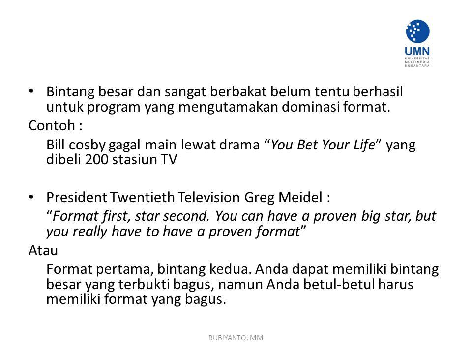 President Twentieth Television Greg Meidel :