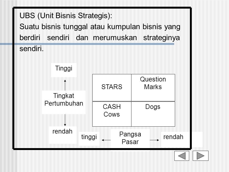UBS (Unit Bisnis Strategis):