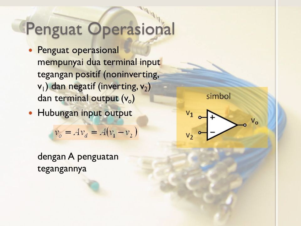 Penguat Operasional