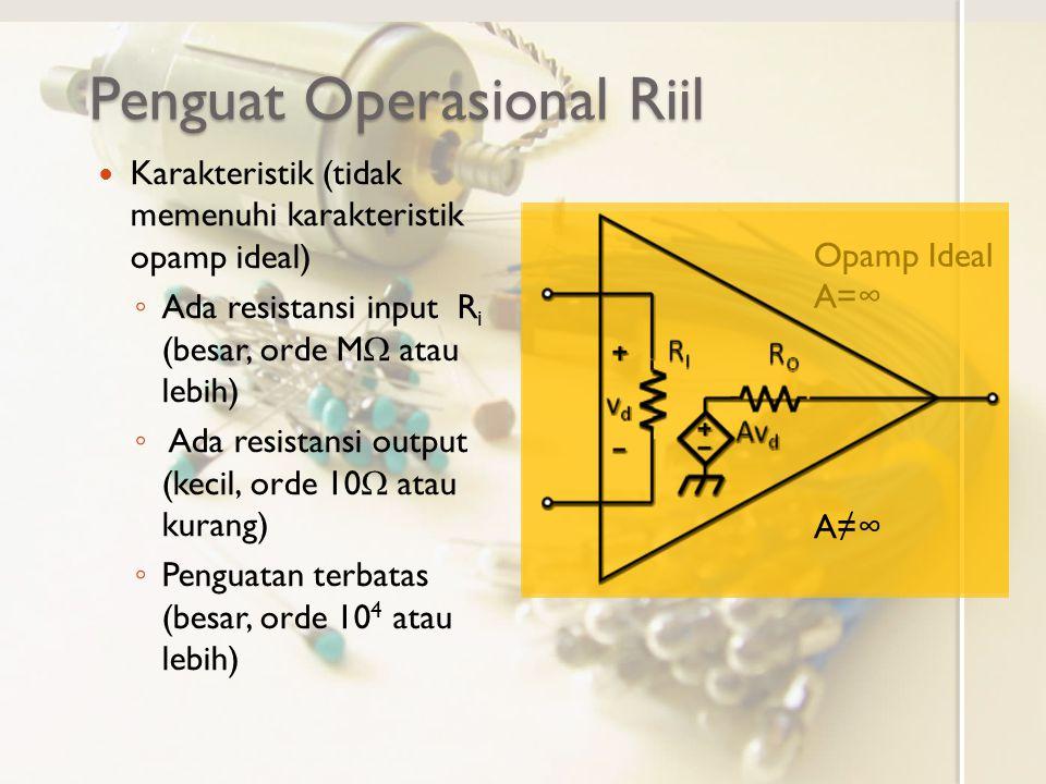 Penguat Operasional Riil
