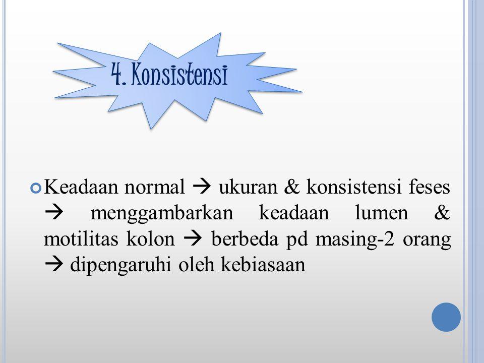 4. Konsistensi