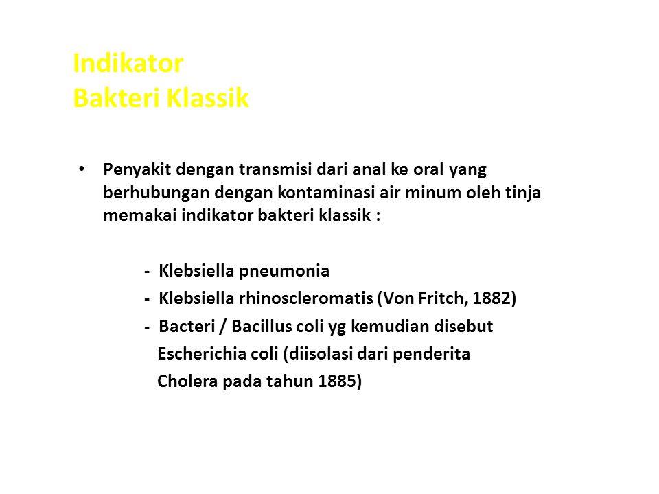 Indikator Bakteri Klassik