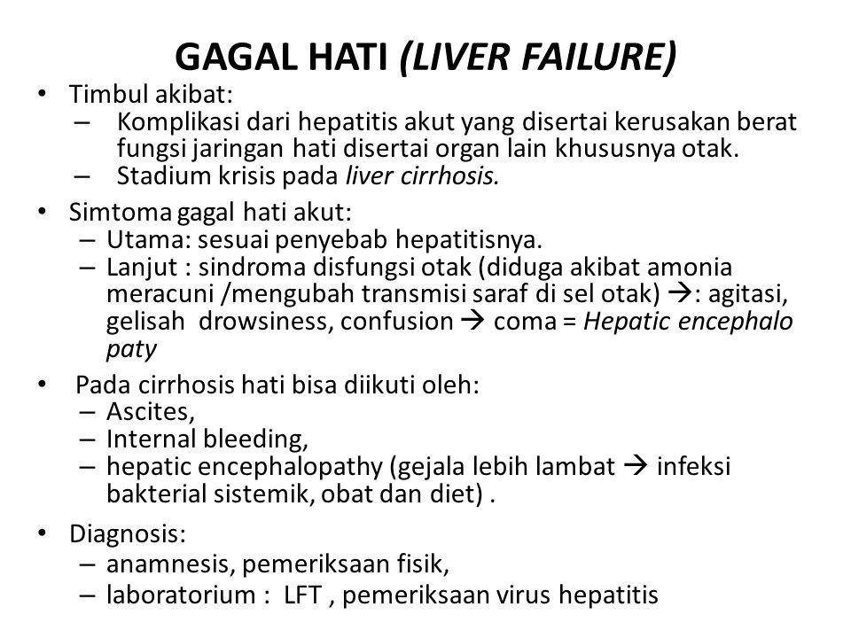 GAGAL HATI (LIVER FAILURE)