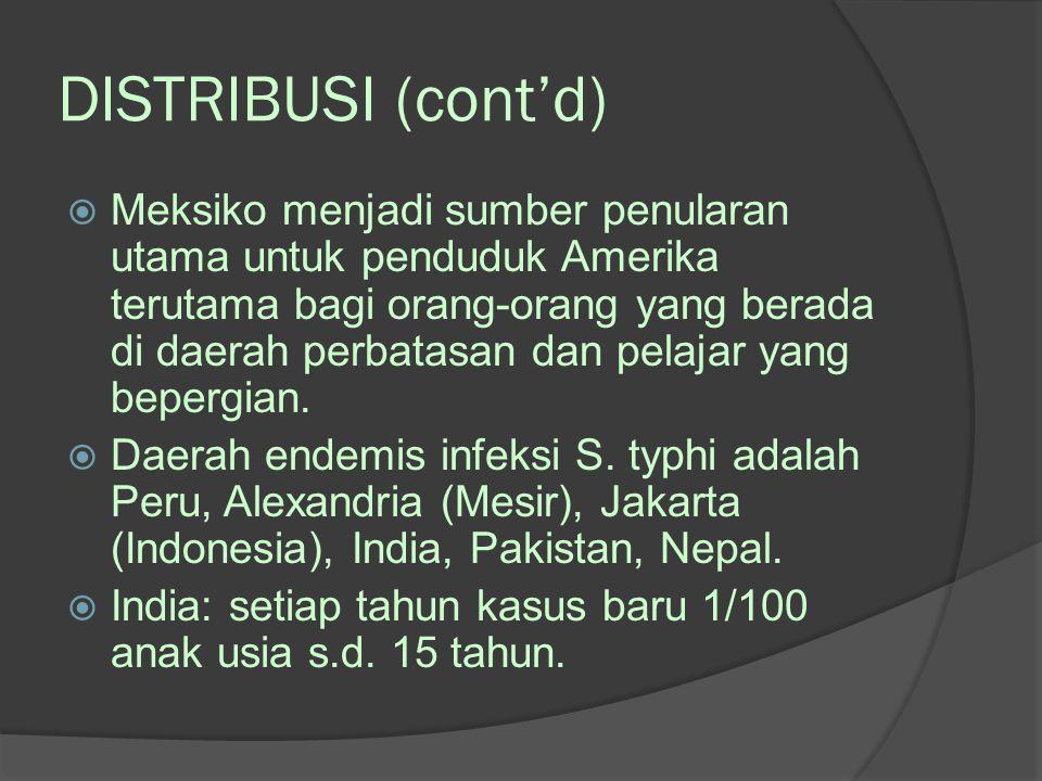 DISTRIBUSI (cont'd)