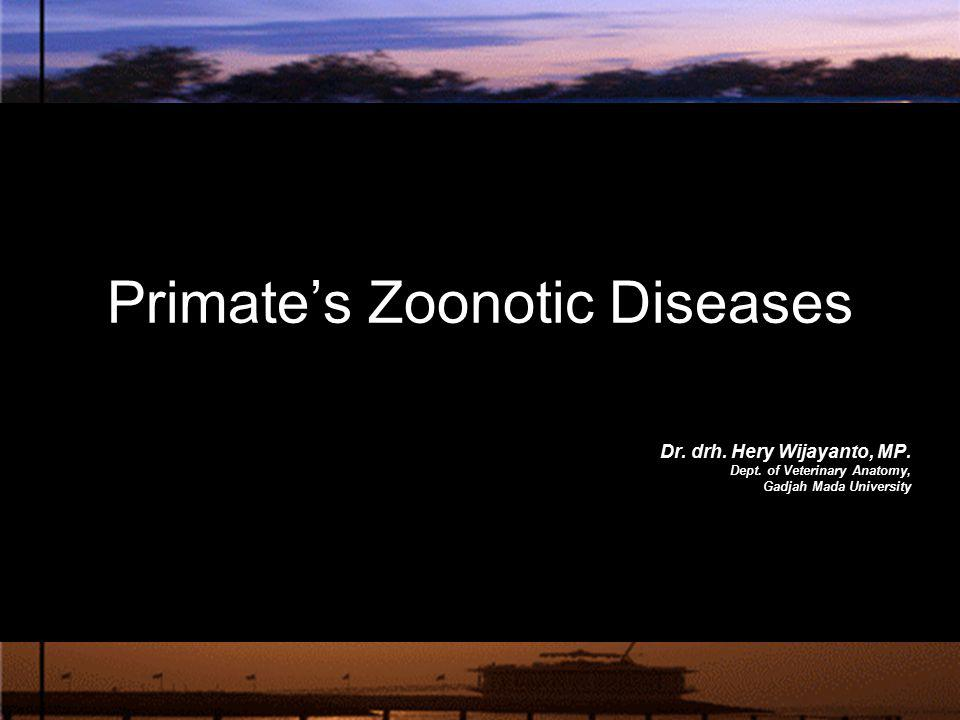 Primate's Zoonotic Diseases