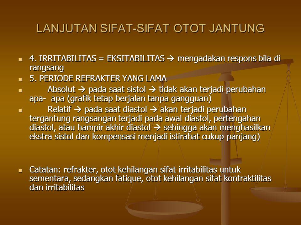LANJUTAN SIFAT-SIFAT OTOT JANTUNG