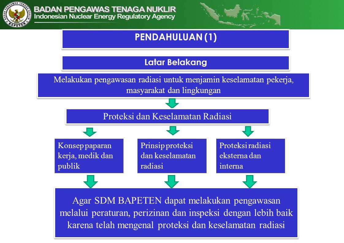 Proteksi dan Keselamatan Radiasi