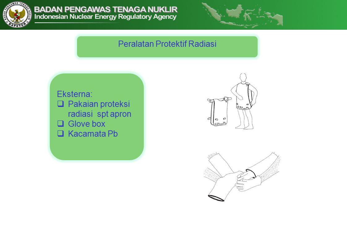Peralatan Protektif Radiasi