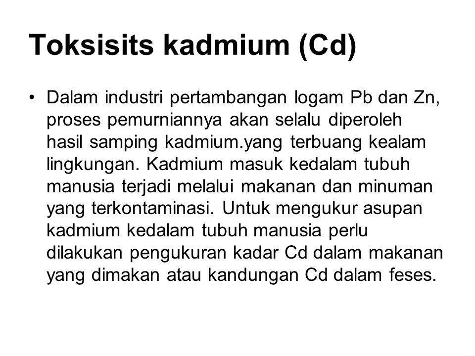 Toksisits kadmium (Cd)