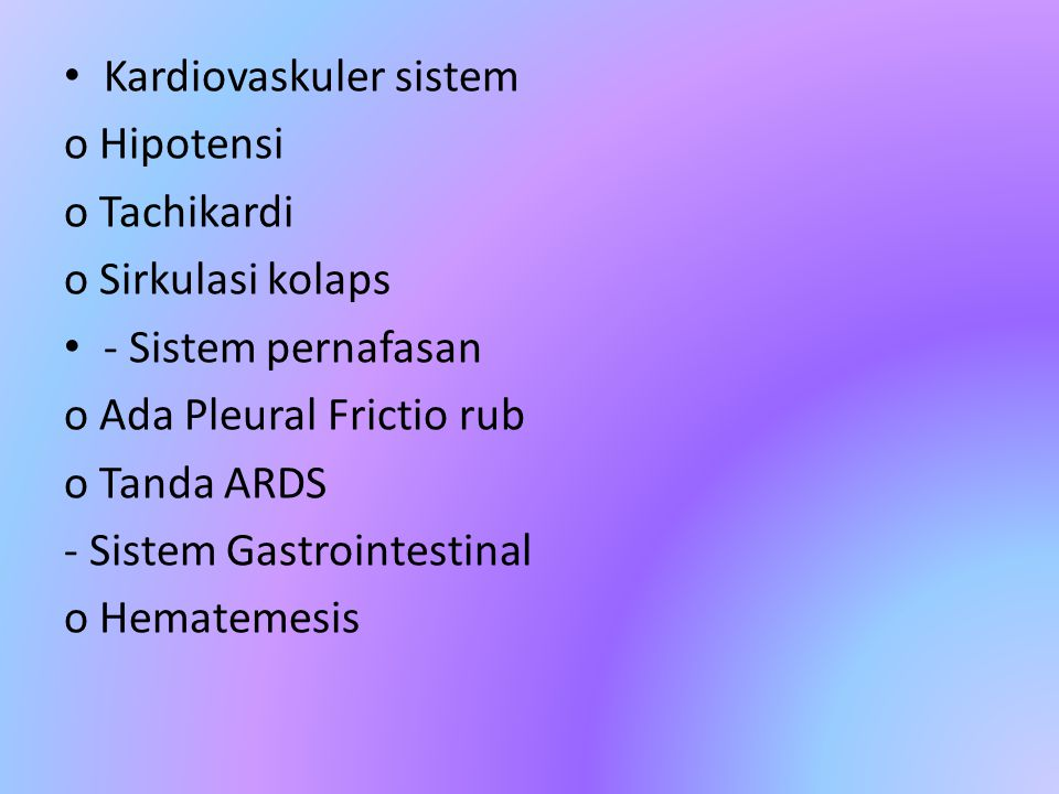 Kardiovaskuler sistem