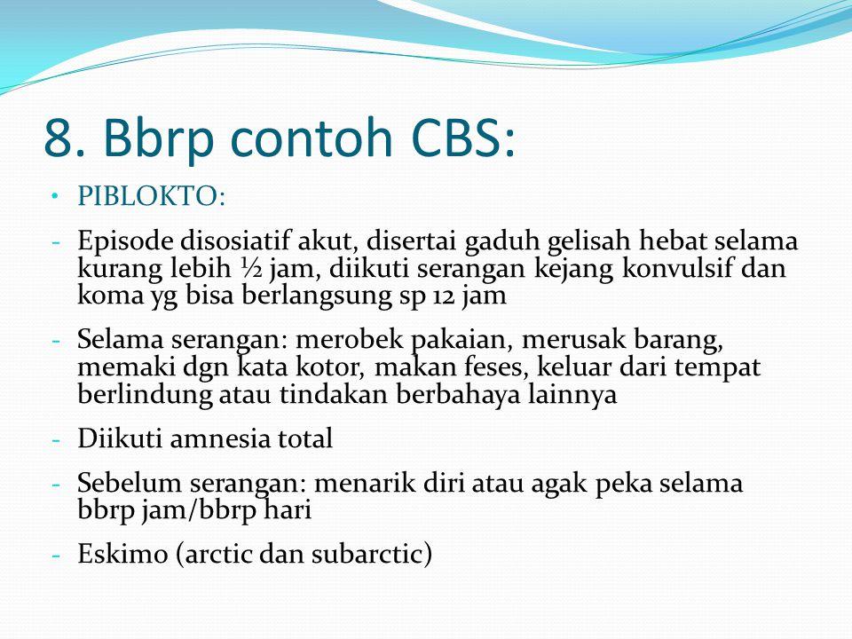 8. Bbrp contoh CBS: PIBLOKTO: