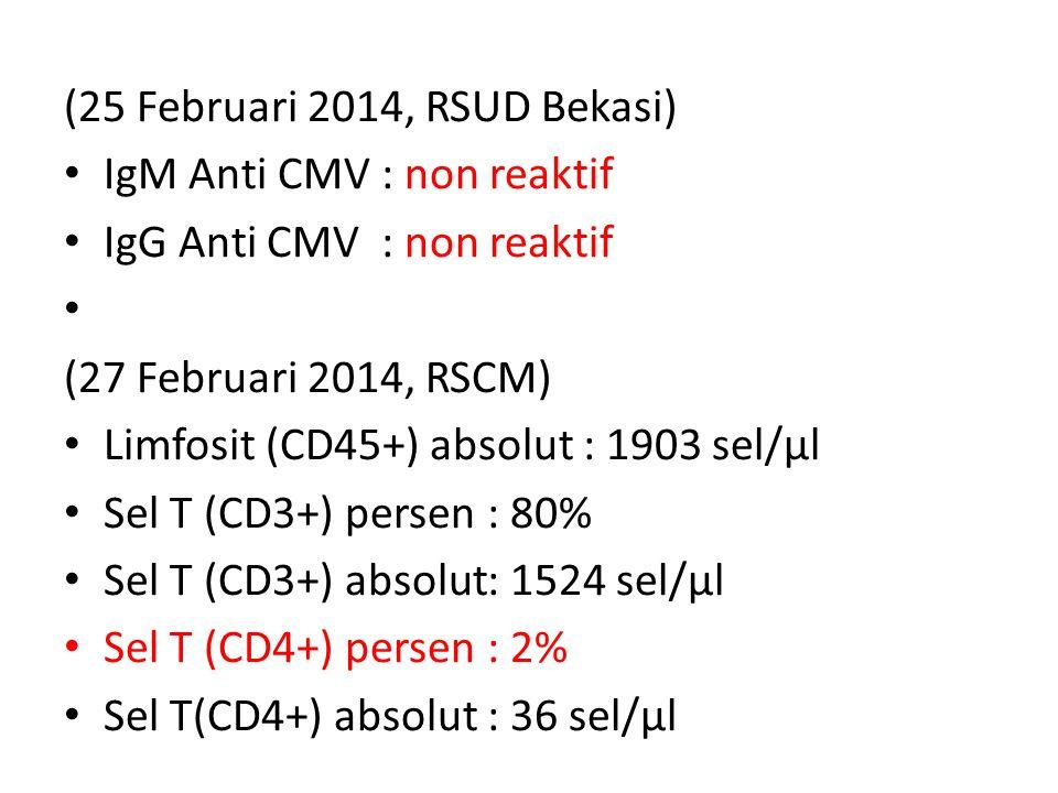 (25 Februari 2014, RSUD Bekasi)