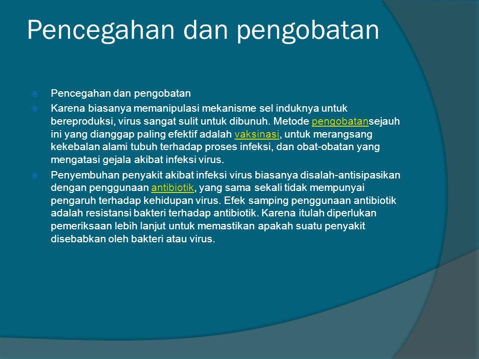 Pencegahan dan pengobatan