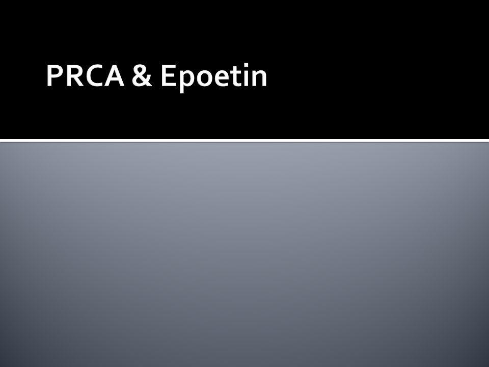 PRCA & Epoetin