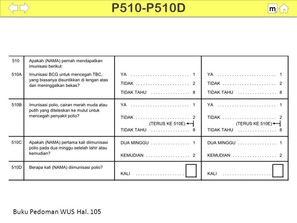 P510-P510D m SDKI 2012 100% Buku Pedoman WUS Hal. 105