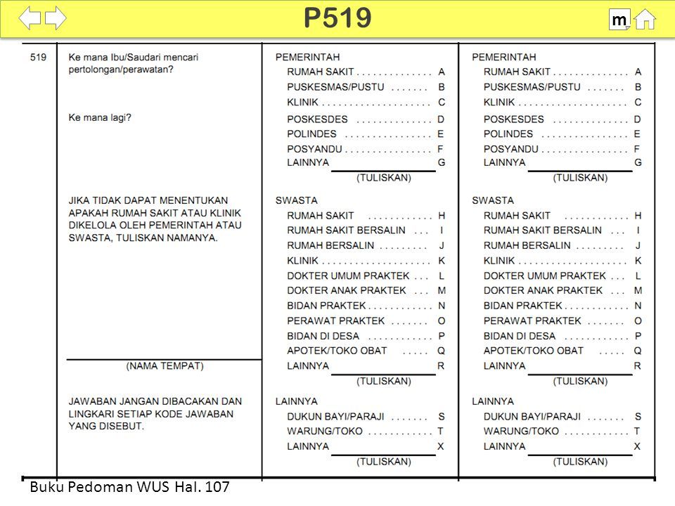 P519 m SDKI 2012 100% Buku Pedoman WUS Hal. 107