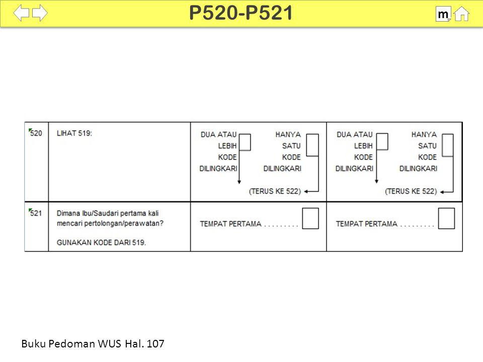 P520-P521 m SDKI 2012 100% Buku Pedoman WUS Hal. 107