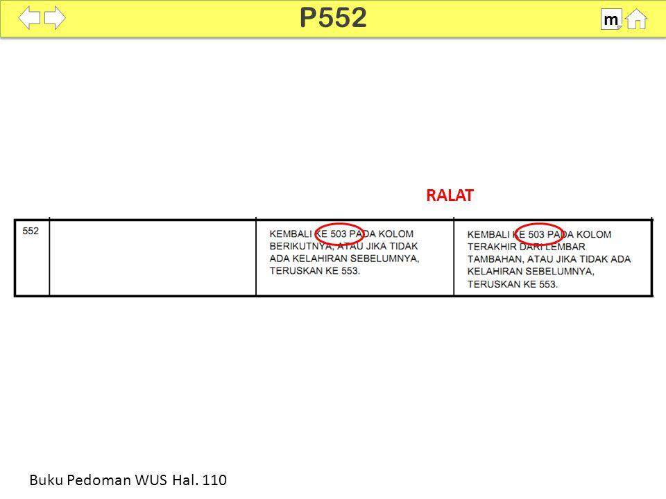 P552 m SDKI 2012 100% RALAT Buku Pedoman WUS Hal. 110