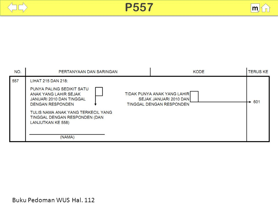 P557 m SDKI 2012 100% Buku Pedoman WUS Hal. 112