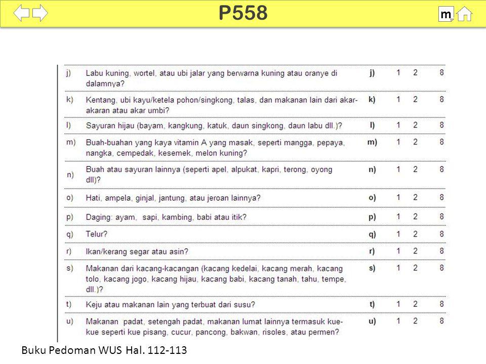 P558 m SDKI 2012 100% Buku Pedoman WUS Hal. 112-113