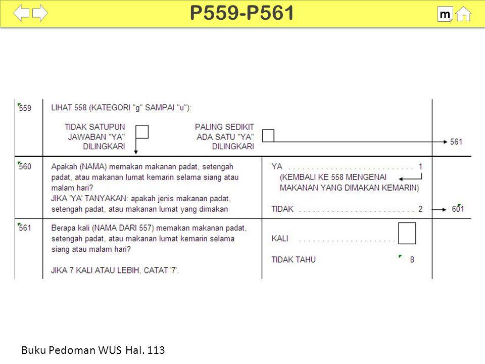 P559-P561 m SDKI 2012 100% Buku Pedoman WUS Hal. 113