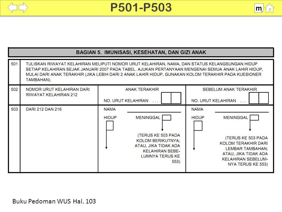 P501-P503 m SDKI 2012 100% Buku Pedoman WUS Hal. 103