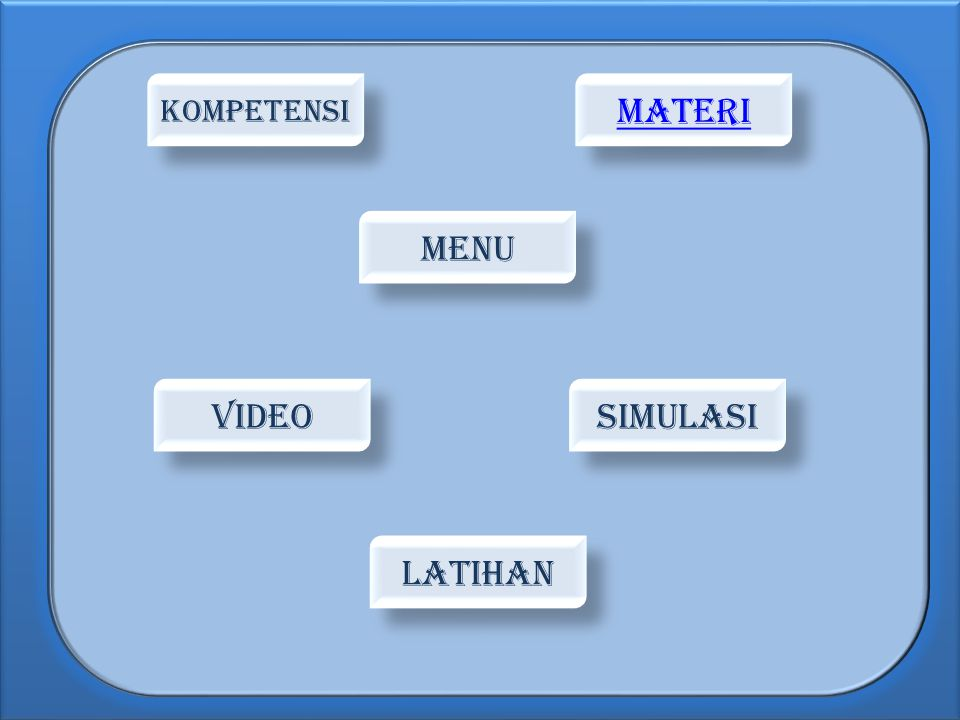 KOMPETENSI MATERI MENU vIDEO SIMULASI LATIHAN