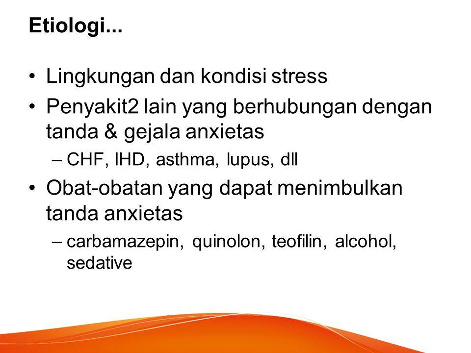 Lingkungan dan kondisi stress